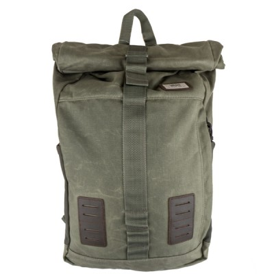 image: Plot Roll Top Backpack Green