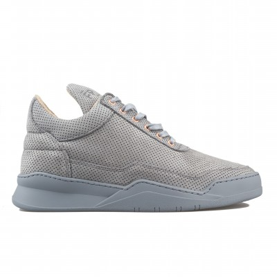 image: Low Top Perforated Alarm Grey