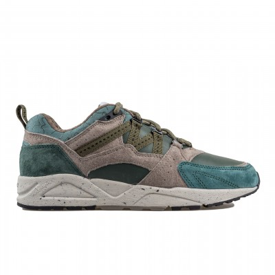 image: Fusion 2.0 Suede Slate Green