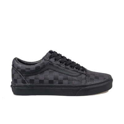 image: Old Skool Black/Checker