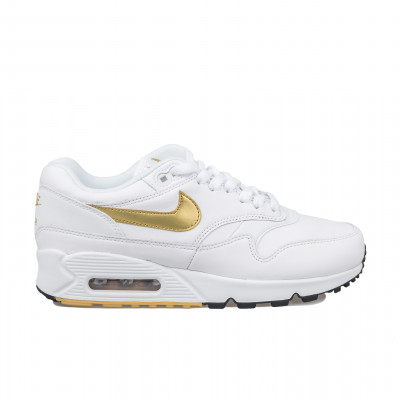 image: Air Max 90/1 White/Metallic Gold