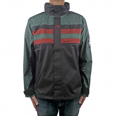 image: Urban Windbreaker Black / Green