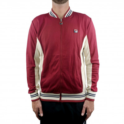 image: Settanta Baseball Track Top Tibetan Red