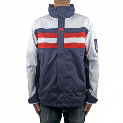 image: Urban Windbreaker Evening Blue / Red