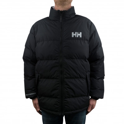 image: Urban Reversible Puffer Jacket Black / Grey