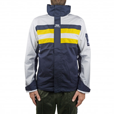 image: Urban Windbreaker Evening Blue / Yellow
