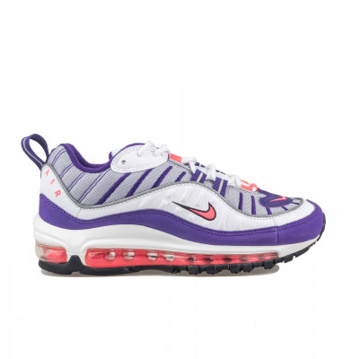 image: Air Max 98 White / Racer Pink