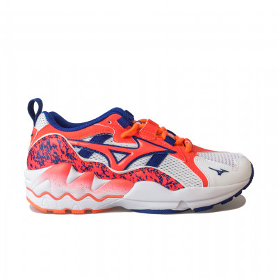 image: Wave Rider 1 White / Fiery Coral