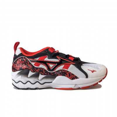 image: Wave Rider 1 White / High Risk Red