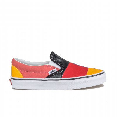 image: Vans Classic Slip-On Patchwork Multi / True White