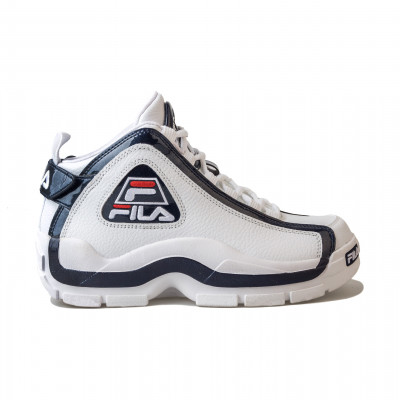 image: Grant Hill 2 White Navy Red