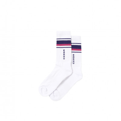 image: Tubular 87 Socks White Cabaret