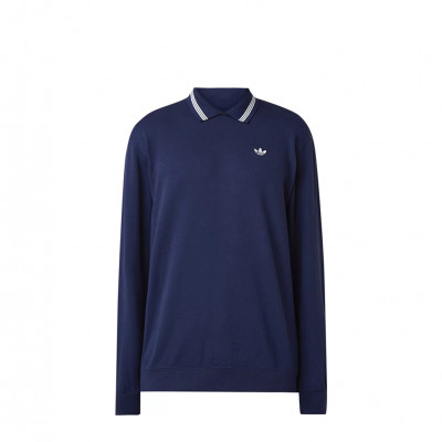 image: Polo Sweatshirt Night Indigo