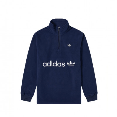 image: Half Zip Polarfleece Night Indigo
