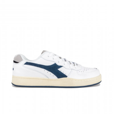 image: MI Basket Low Used Blue Dark Denim