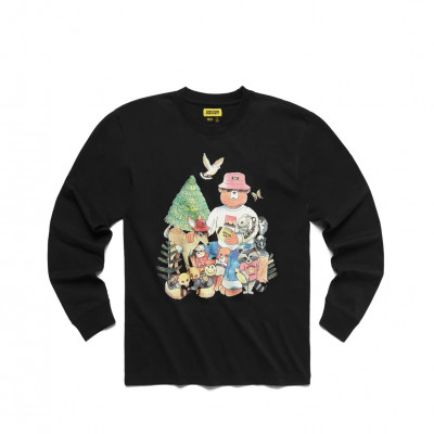 image: Friends Longsleeve Black