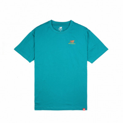 image: Essentials Embriodered Tee Teal
