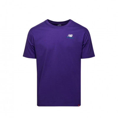 image: Essentials Embriodered Tee Purple