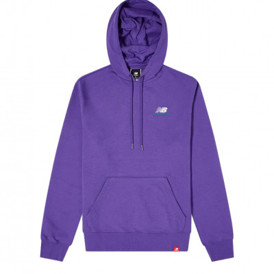 image: Embriodered Hoodie Purple